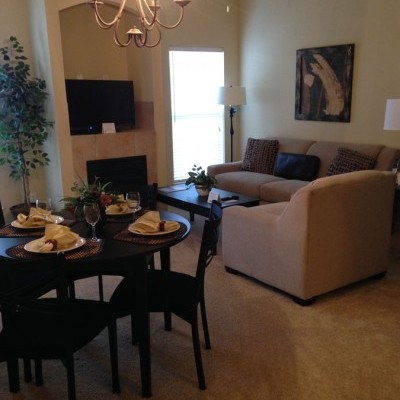 Enclave   Living Dining Rm