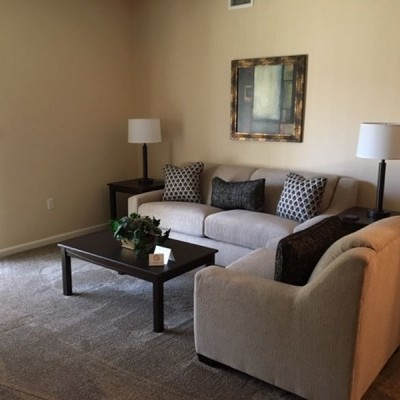 Ft Walton Beach   Crosswinds Living Room 2